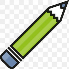 A Green Pen - Student Education School Icon Design Icon PNG