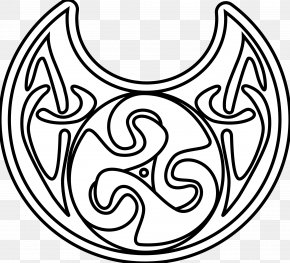 Book - Celtic Knot Coloring Book Drawing Black And White Clip Art PNG