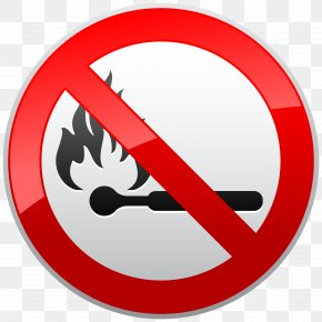 No - Fire Flame Sign Clip Art PNG