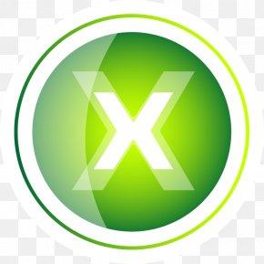 Painted Green Background Circular Pattern - Logo Circle Clip Art PNG
