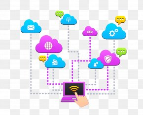 Cloud Computing Schematic UI - Cloud Computing Cloud Storage Service Web Design Internet PNG