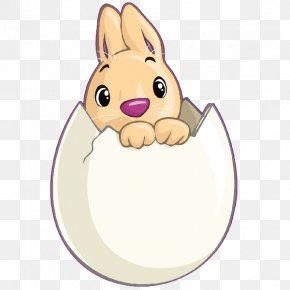 Easter Bunny - Easter Bunny Hare Rabbit Easter Egg PNG