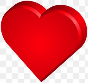 Heart PNG Clip Art Image - Red Heart Valentine's Day Design PNG