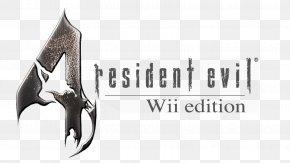 Design - Resident Evil 4 Logo Brand Font PNG