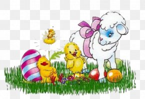 Sheep - Easter Bunny Sheep PNG