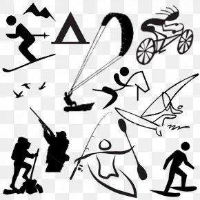 Outdoor Sports Activities Picture - Outdoor Recreation Clip Art PNG