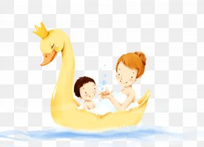 Maternal And Child Class Creative - Mother Being Wallpaper PNG