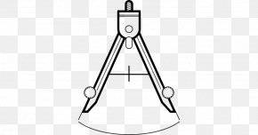 Compas Technical Drawing - Technical Drawing Line Art Compass PNG