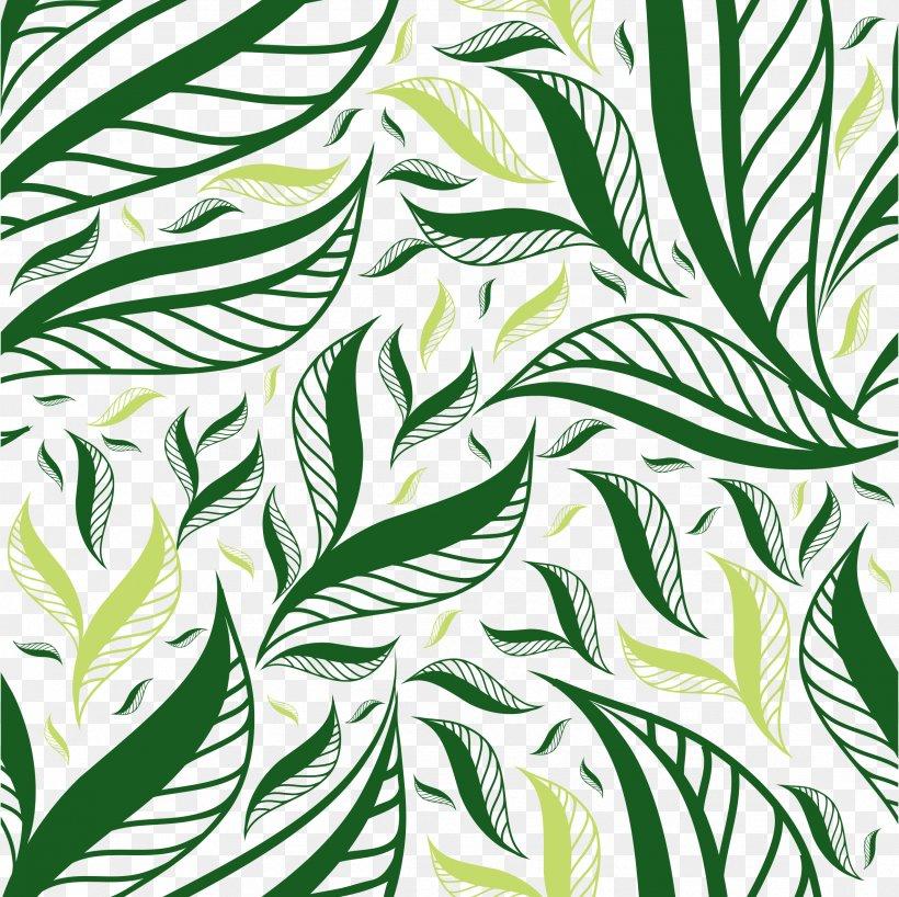 Autumn Leaf Color Green, PNG, 2371x2367px, Leaf, Autumn Leaf Color, Black And White, Branch, Flora Download Free