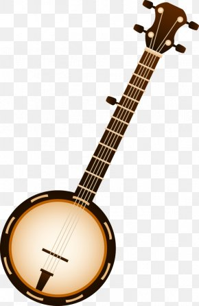 Musical Instruments - Banjo Bluegrass Musical Instruments String Instruments Clip Art PNG