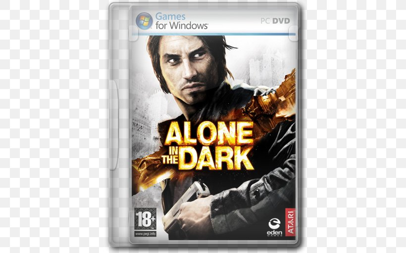 Alone In The Dark 2 Xbox 360 Edward Carnby Video Game Png 512x512px Alone In The