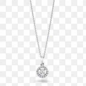 Necklace - Charms & Pendants Jewellery Sterling Silver Necklace Diamond PNG
