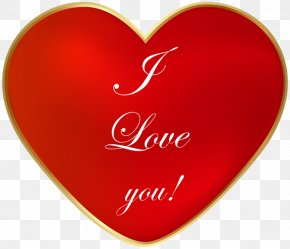 I Love You - Love Heart YouTube Clip Art PNG