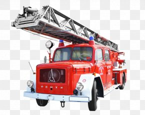 Engine - Magirus Fire Engine Firefighter Firefighting Truck PNG