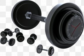 Barbell Fitness Equipment - Barbell Olympic Weightlifting Weight Training Dumbbell PNG