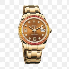 Rolex Ladies Automatic Mechanical Watches - Rolex Datejust Rolex Daytona Watch Bezel PNG