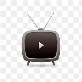 Creative TV TV Vector Material - Television Broadcasting Icon PNG