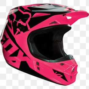 Helm - Motorcycle Helmets Fox Racing Racing Helmet PNG