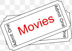 Movies Office Cliparts - Ticket Film Cinema Clip Art PNG