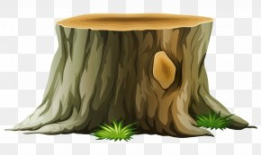 Tree Stump Clipart Picture - Tree Stump Trunk Clip Art PNG