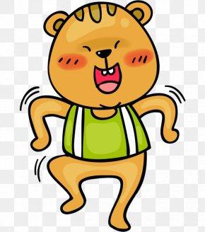 Brown Bear - Squirrel Brown Bear Illustration PNG