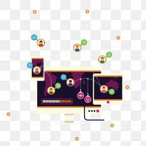 HighTech Modern Communication Information - Information And Communications Technology Concept Illustration PNG