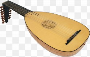 Musical Instruments - Lute Musical Instruments Plucked String Instrument Guitar String Instruments PNG