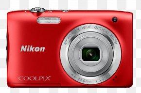 Black Point-and-shoot Camera Nikon Camara A100 Red 20.1 Meg 740 Gr Nikon Coolpix S30 10.1 MP Compact Digital Camera720pBlackCamera - Nikon Coolpix S2900 Digital Camera PNG