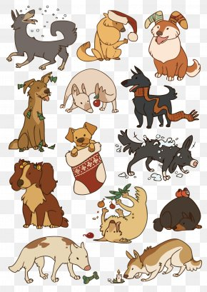 Vector Cartoon Dog - West Highland White Terrier Pug Cairn Terrier Puppy Cat PNG