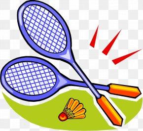 Badminton - Badminton Racket Shuttlecock Clip Art PNG
