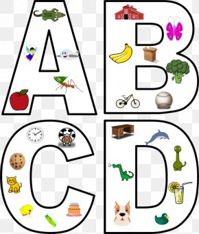 Happy Wednesday Clipart - Sound Letter Phonics Clip Art PNG