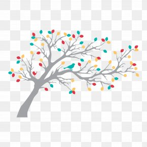 Wall Decal - Tree Wall Decal Drawing PNG