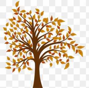 Fall - Tree Autumn Clip Art PNG