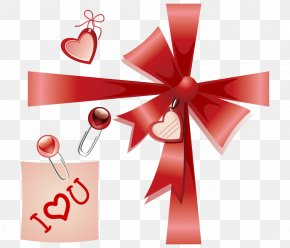Valentine Bow Tags - Gift Card Greeting Card Template Valentines Day PNG