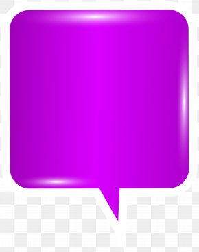 Bubble Speech Purple Clip Art Image - Image File Formats Lossless Compression PNG