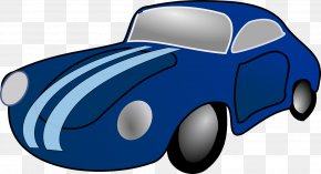 Car - Model Car Toy Blue Clip Art PNG