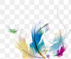 Feather Poster - Feather Wallpaper PNG