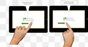 Swipe - IPod Touch Microsoft PowerPoint Presentation Slide Computer Software PNG