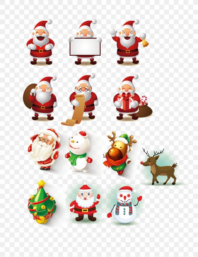 Santa Claus Cartoon Christmas, PNG, 1001x1296px, Santa Claus, Art, Cartoon, Christmas, Christmas Decoration Download Free