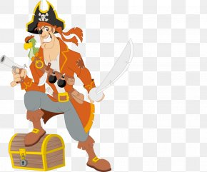 Cartoon Pirate Material - Piracy Royalty-free Clip Art PNG