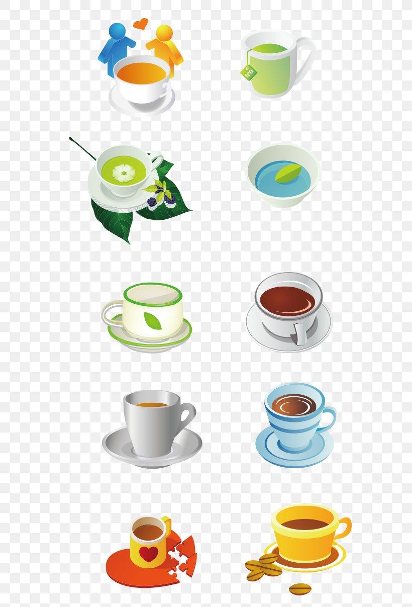 Green Tea Coffee Flowering Tea White Tea, PNG, 652x1207px, Tea, Black Tea, Camellia Sinensis, Coffee, Coffee Cup Download Free