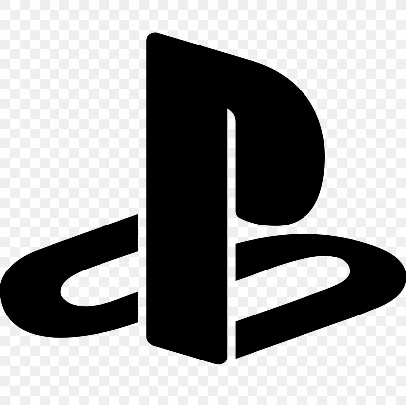 PlayStation 4 Logo Download, PNG, 1600x1600px, Playstation 4, Black And White, Brand, Dribbble, Logo Download Free