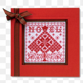 Pattern Cards - Christmas Greeting & Note Cards Cross-stitch Pattern PNG
