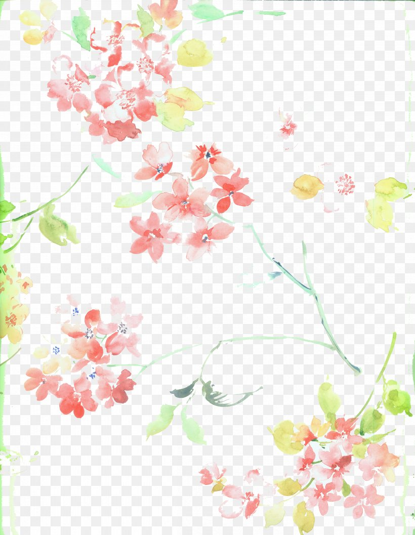 Cherry Blossom Flower, PNG, 4800x6192px, Cherry Blossom, Apricot, Area, Blossom, Branch Download Free