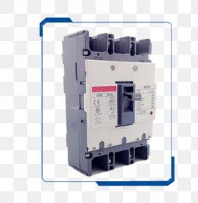 Circuit Breaker - Circuit Breaker Electrical Network Residual-current Device Contactor Wiring Diagram PNG