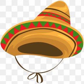 Hat - Mexican Cuisine Sombrero Hat Cartoon PNG