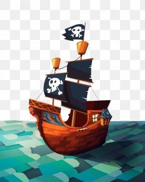 Pirate Ship - Plunder Pirates Piracy Ship Illustration PNG