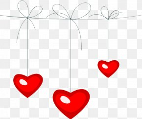 Valentine's Day - Valentine's Day Line Heart Clip Art PNG