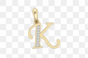 Alphabet Collection - Charms & Pendants Earring Jewellery Alphabet Gold PNG