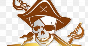 Treasure Bowl - Jolly Roger Skull And Crossbones Piracy Human Skull Symbolism PNG